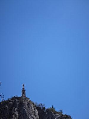 Ciel bleu profond...