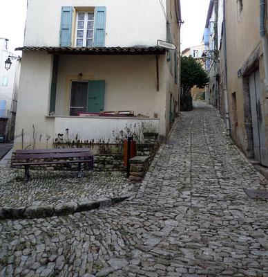 La calade de la rue Saint-Mary, l'une des plus belles de la ville