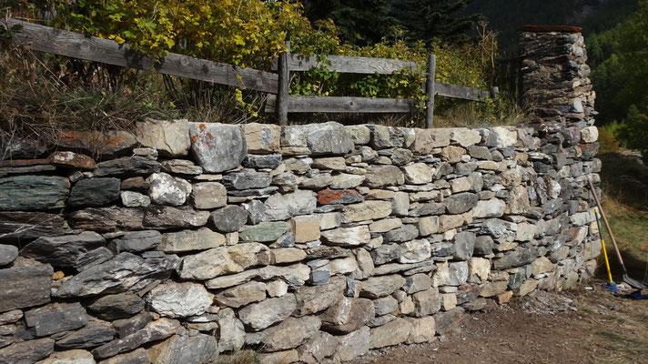 Etat actuel du mur...