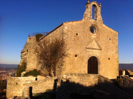 La chapelle Saint-Michel située sur le Rocher