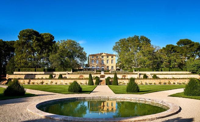 Reprise des restanques supérieures du parc à la française du château de la Gaude - Aix-en-Provence/Venelles (13)