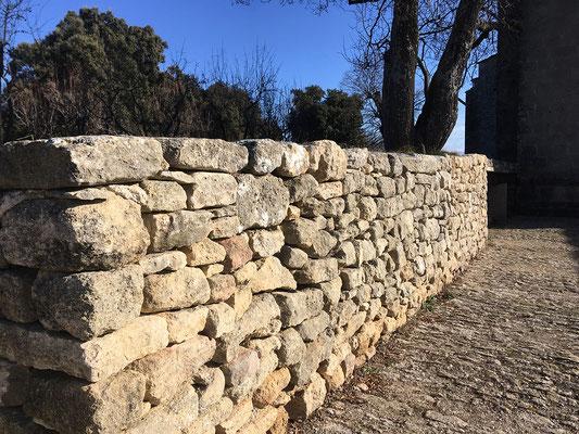 Autre vue du mur aujourd'hui...
