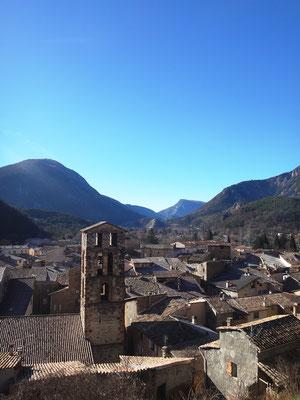 Vue sur les toits de la vieille ville