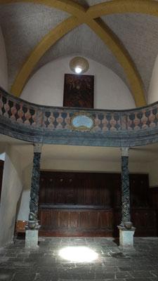 Intérieur de l'église saint Victor
