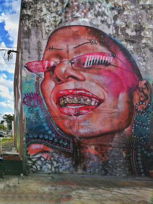 Wynwood Walls • Miami • Florida • Foto 2018 yak RK
