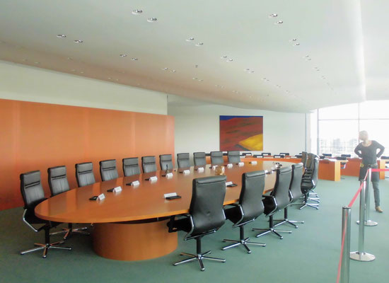 Saal des Bundeskabinetts