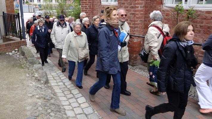 Mit einer Stadtführerin durch die Altstadt