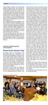 Chorzeitung MSB2