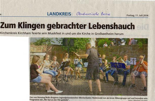 Kirchenkreismusikfest unter Mitwirkung des Kirchen- und Frauenchores Rauschenberg-1
