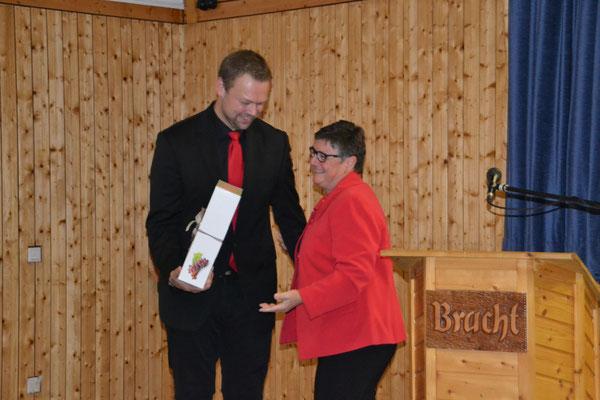 Kreischorleiter Philipp Imhof wird verabschiedet