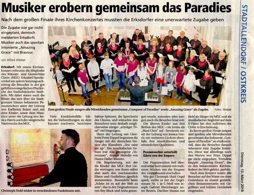 Konzert Erksdorf