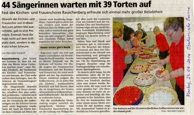 Erdbeerfest 2014 Rauschenberg