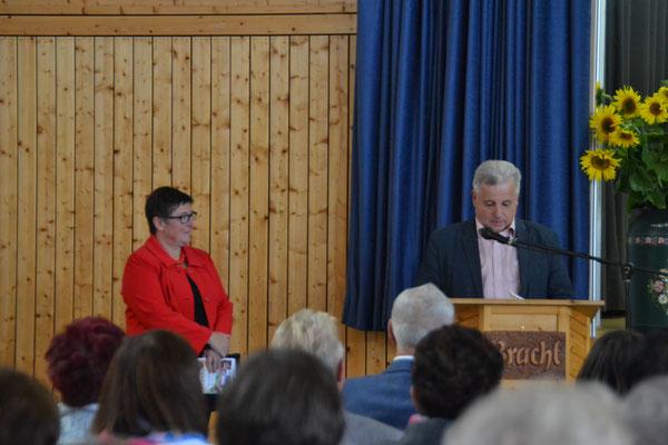 Kreisbeigeordneter Weber spricht für die Lndrätin