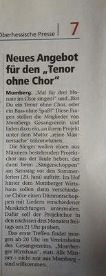 Coole Aktion Momberg