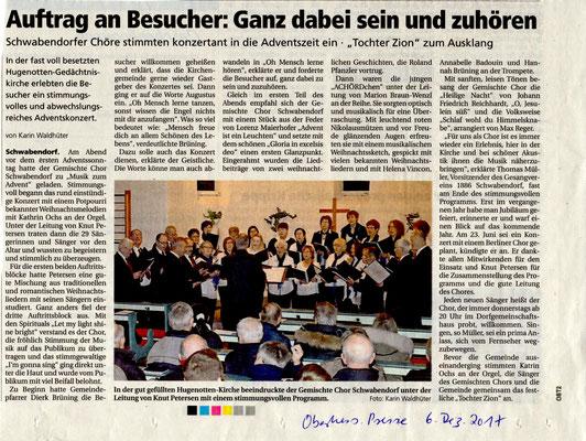 Konzert Schwabendorf