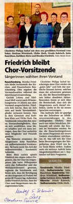JHV Frauenchor Rauschenberg