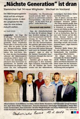 JHV Langendorf 2017