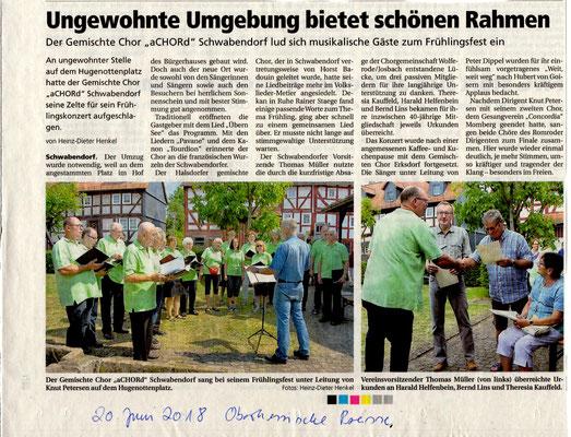 Frühlingsfest Schwabendorf
