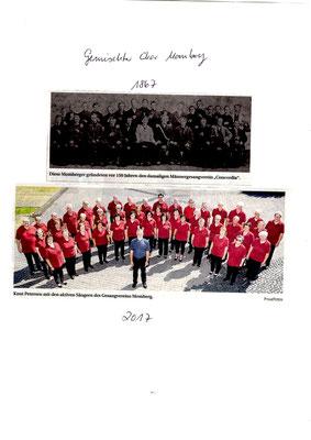 Fotos einst und jetzt Momberg
