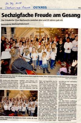 Weihnachtskonzert Erksdorf 2