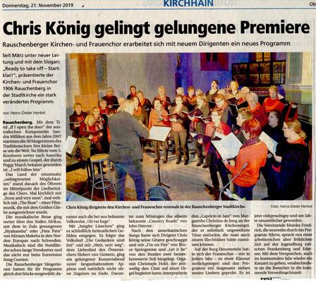 Konzert Frauenchor rauschenberg
