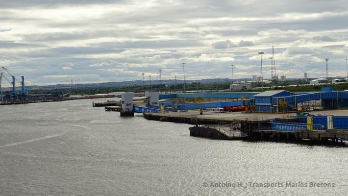 Terminal ferries de North Shields. Photo Antoine H.