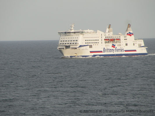 Le M/V Mont Saint Michel (2002 - présent), photo : Antoine H.