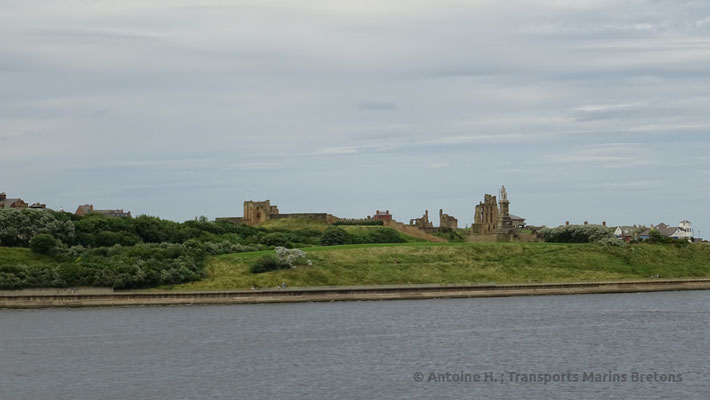 Chateau de Tynemouth. Photo Antoine H.