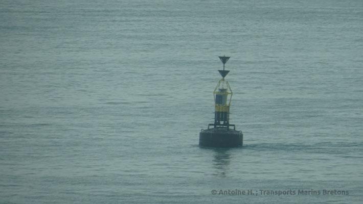 Balise cardinale au milieu de la Manche