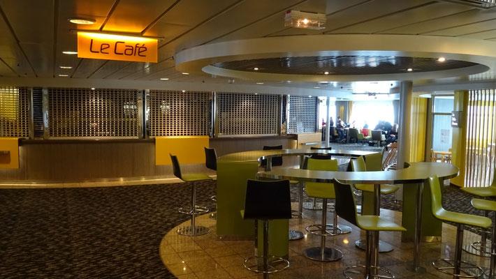 Comptoir du Café La Gerbe de Locronan
