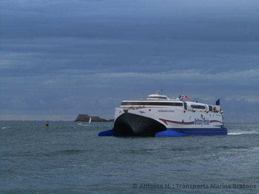Normandie Express à Saint-Malo. Photo Antoine H.