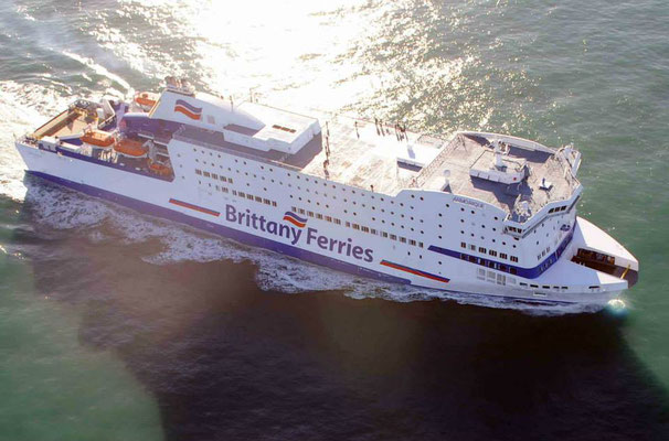 Armorique en mer. Photo Brittany Ferries.