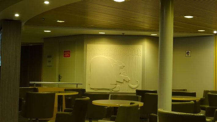 Décoration murale dans la Gerbe de Locronan