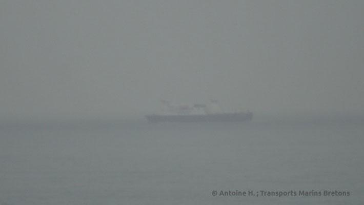 Commdore Clipper croisant dans la Manche en destination de Guernesey