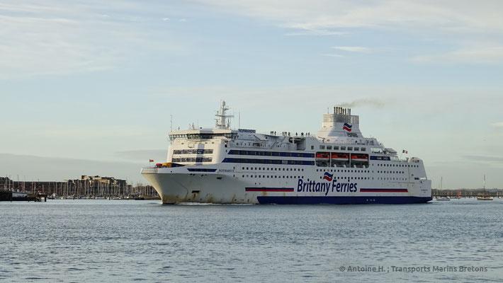 Normandie à Portsmouth