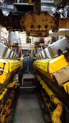 2 des moteurs principaux de Normandie