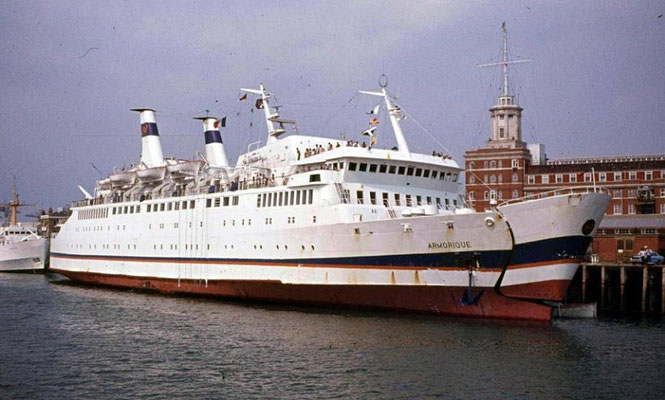 Armorique (1). Photo Brittany Ferries.