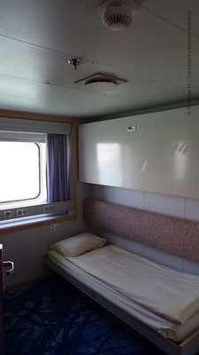 Cabine deux-couchettes extérieure de Normandie