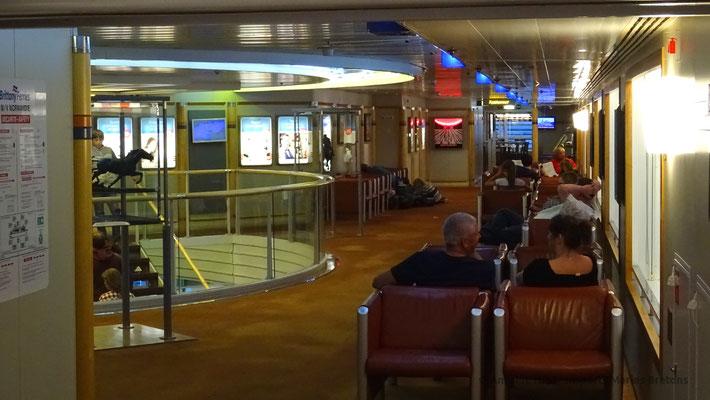 Pallier central à bord de Normandie