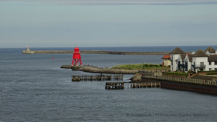 Phare de Herd Groyne. Photo Antoine H.