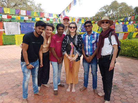 Unser Team in Lumbini