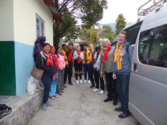 Empfang im  FWHC Children Village