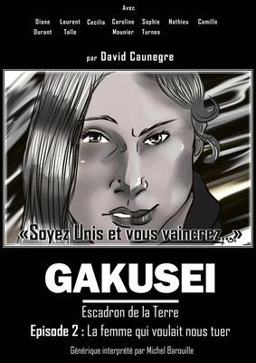 Annonce pour l'épisode 2 de la websérie Gakusei