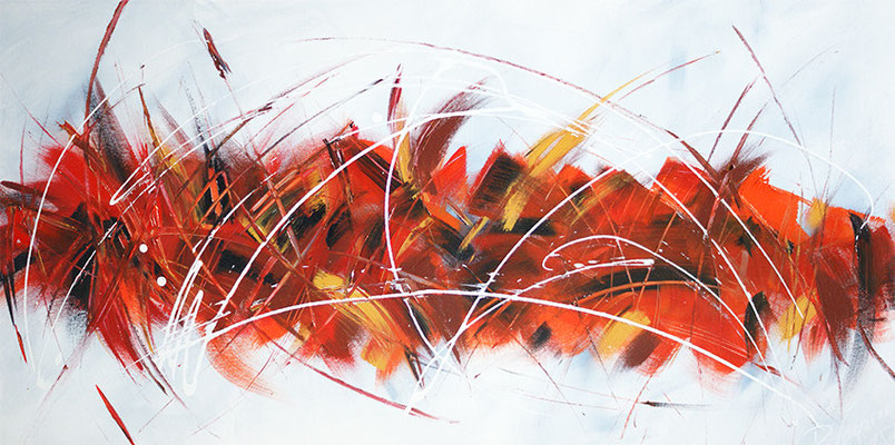Abstrakt in Acryl