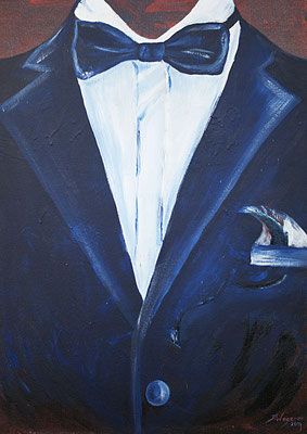 Anzug in Acryl