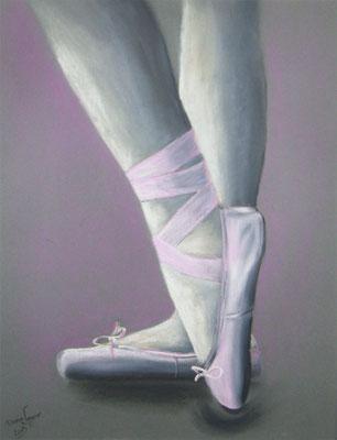 Ballett in Kreide