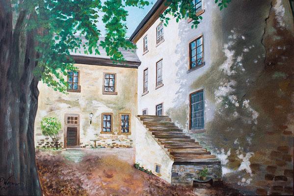 Schloss Homberg in Acryl