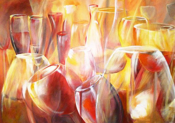 Gläser in Acryl
