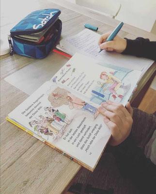 Hausaufgaben Unterstützung