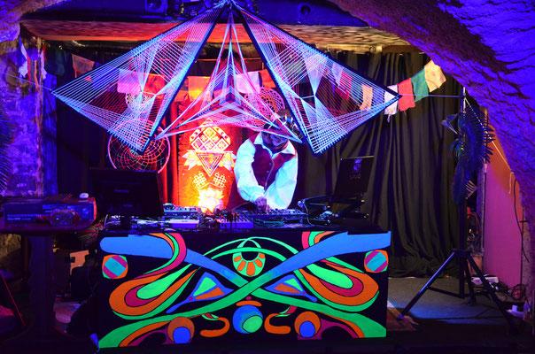 Alleza's Moutain Psy Party @ Le Cabaret Pop', Gap (05) Crédit photo: Jessy Briand